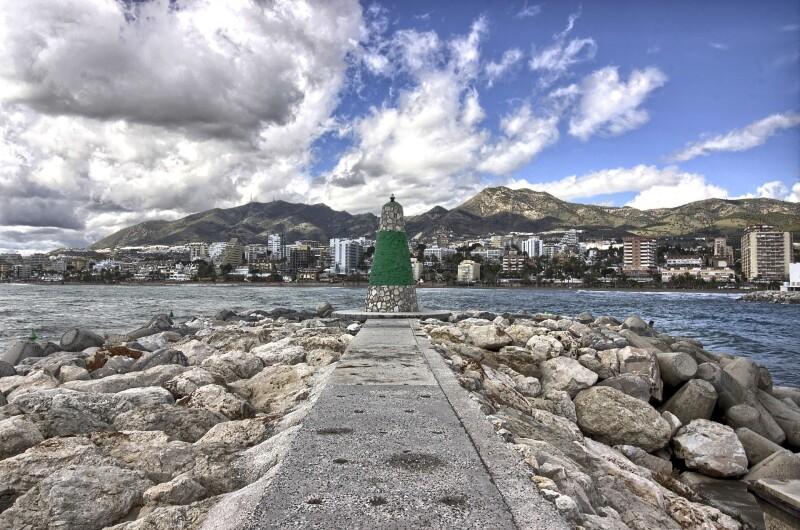 Benalmadena, Marina, beach promenade, golf courses, picturesque mountain village, parks, bars and restaurants