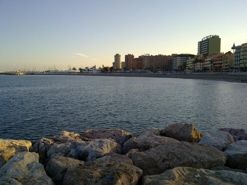 Fuengirola is a small town with an 8-kilometre long promenade