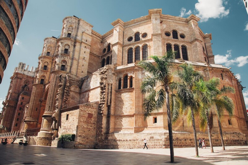 Málaga is the biggest city on the costa del Sol